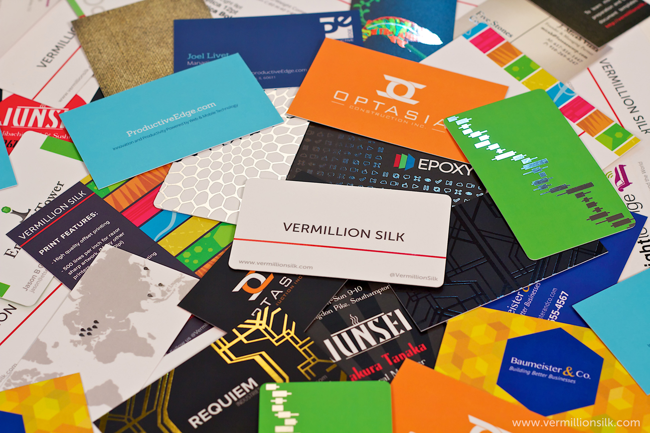 Full Color Business Cards Single Sided Florida Color Printing